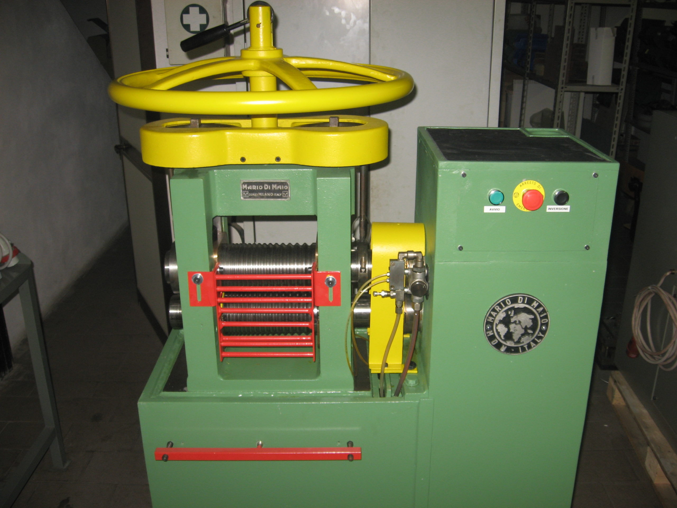Rolling mill wire 200 mm Mod. MdM Image