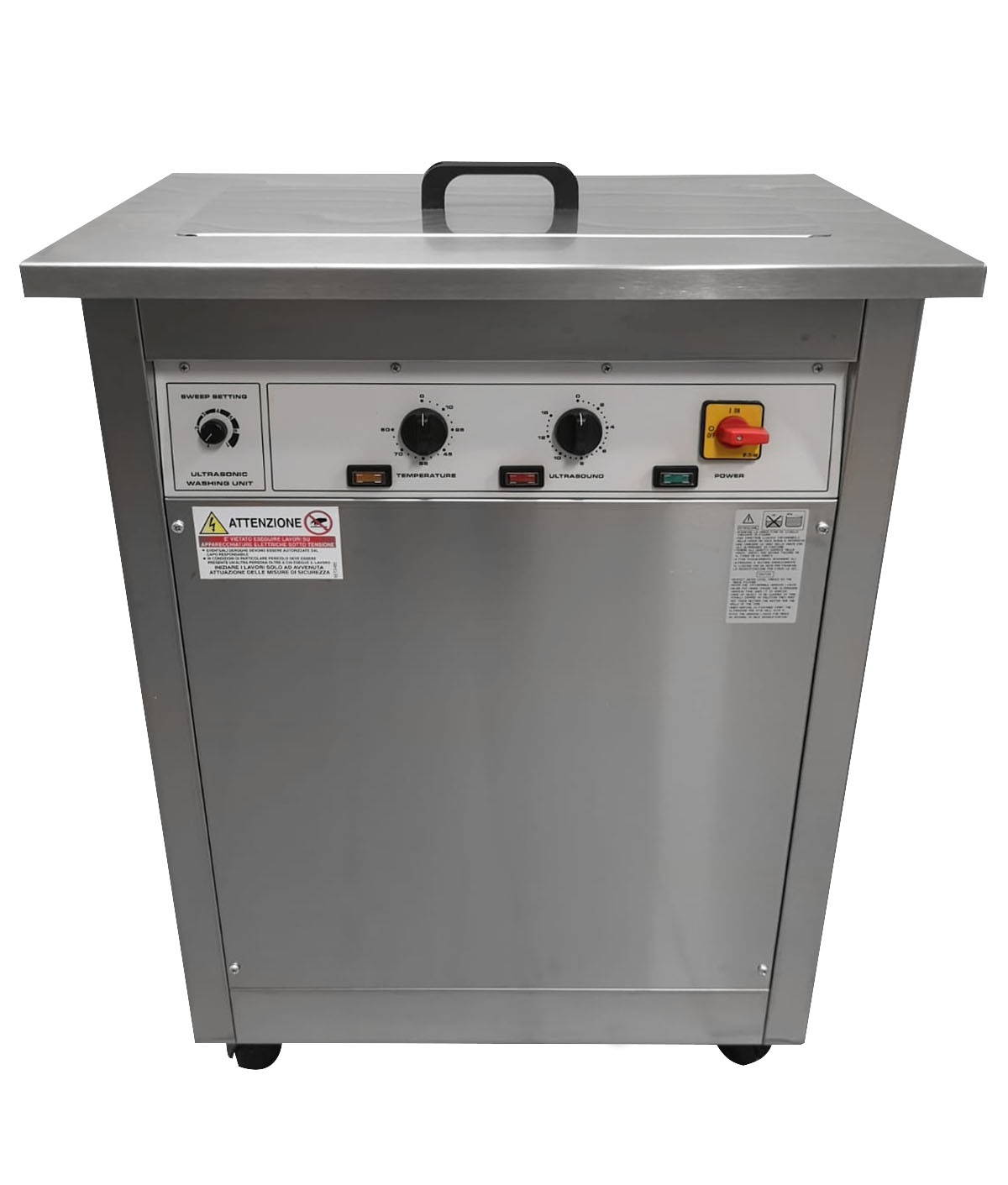 Ultrasonic cleaner 50 Lt. New Image