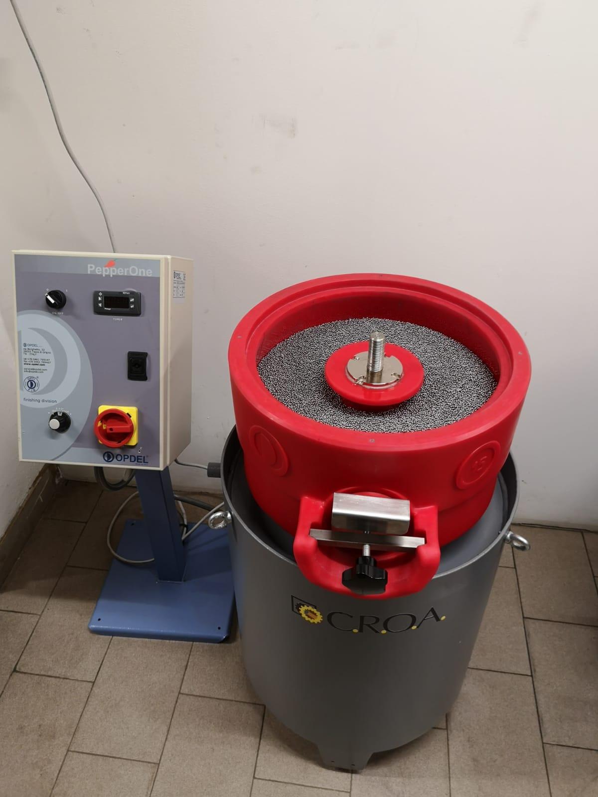 Vibratore circolare 15 litri Opdel Image
